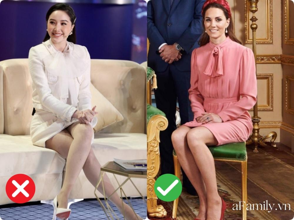 Lại chuyện dáng ngồi khi diện váy ngắn: Bảo Thy, Hương Giang suýt hớ hênh, ngồi thế nào cho thật tinh tế cũng là một kỹ năng - Ảnh 8.