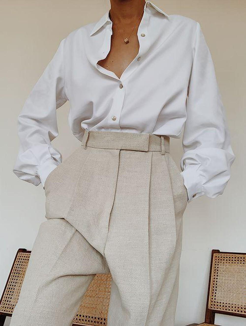 3 kiểu quần vải che giấu mọi nhược điểm vóc dáng, hội đùi to, chân cong phải ghim ngay còn sắm dần - Ảnh 22.