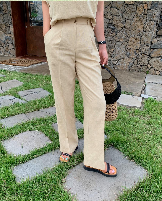 3 kiểu quần vải che giấu mọi nhược điểm vóc dáng, hội đùi to, chân cong phải ghim ngay còn sắm dần - Ảnh 4.