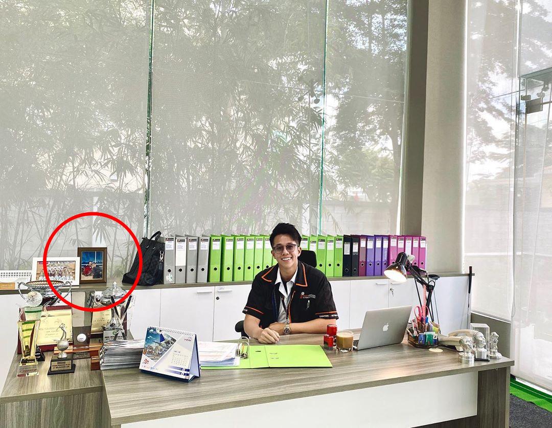 Matt Liu khoe góc làm việc chuẩn CEO, nhưng thực chất đang cao tay khẳng định Hương Giang đã có chủ - Ảnh 2.