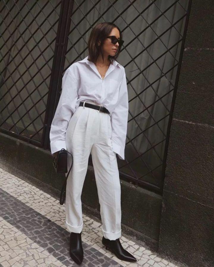 Nàng blogger chỉ cao 1m55 vẫn mặc đẹp quá và sang khiến đồng nghiệp khen tới tấp và thi nhau copy theo - Ảnh 9.