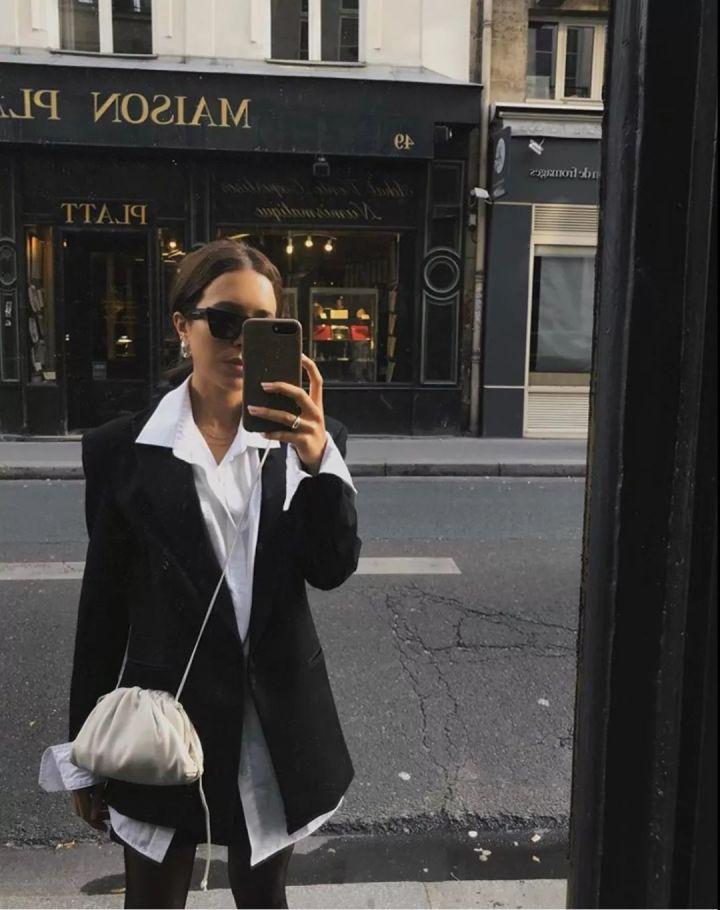 Nàng blogger chỉ cao 1m55 vẫn mặc đẹp quá và sang khiến đồng nghiệp khen tới tấp và thi nhau copy theo - Ảnh 6.