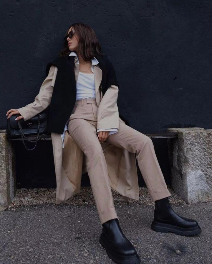 Nàng blogger chỉ cao 1m55 vẫn mặc đẹp quá và sang khiến đồng nghiệp khen tới tấp và thi nhau copy theo - Ảnh 7.