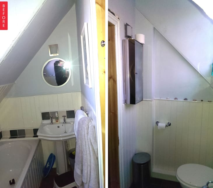 Cải tạo phòng tắm với giá siêu rẻ nhưng không gian đẹp lạ chỉ trong nháy mắt - Ảnh 4.