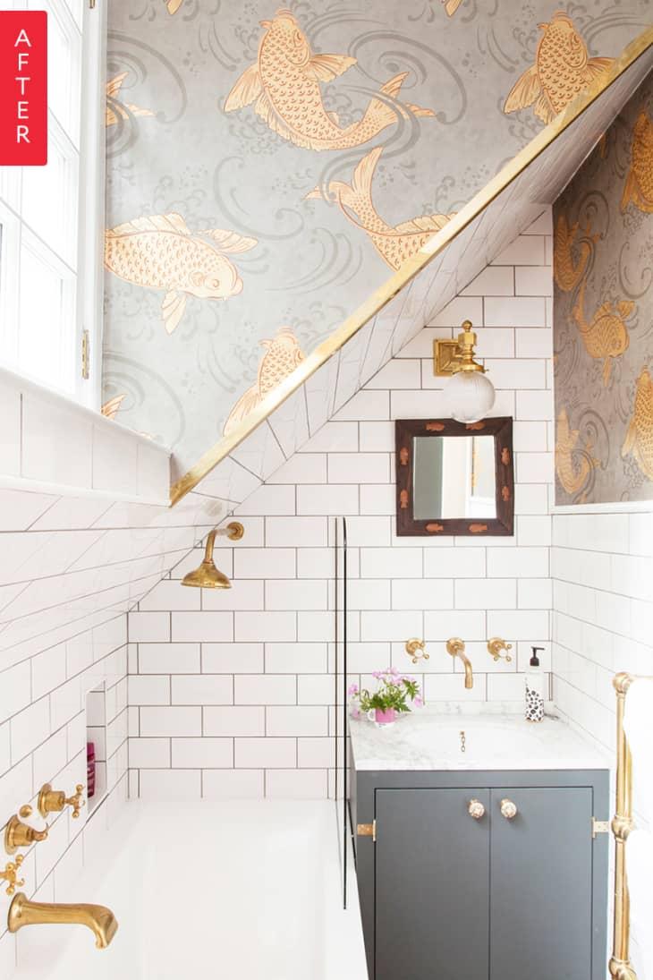 Cải tạo phòng tắm với giá siêu rẻ nhưng không gian đẹp lạ chỉ trong nháy mắt - Ảnh 6.