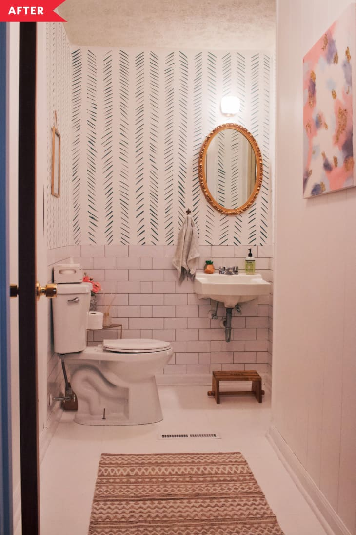Cải tạo phòng tắm với giá siêu rẻ nhưng không gian đẹp lạ chỉ trong nháy mắt - Ảnh 2.