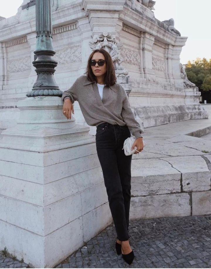Nàng blogger chỉ cao 1m55 vẫn mặc đẹp quá và sang khiến đồng nghiệp khen tới tấp và thi nhau copy theo - Ảnh 13.