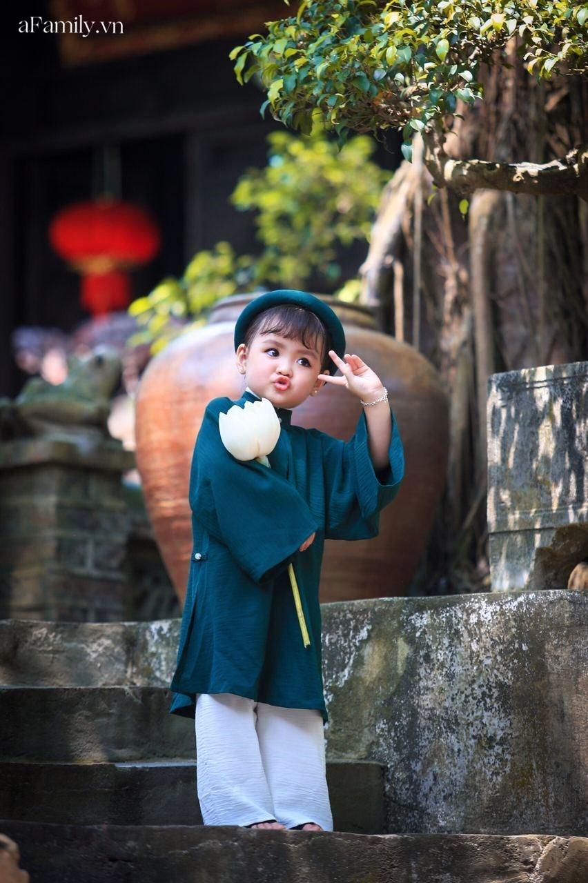 """Nghỉ ở nhà mùa dịch, mẫu nhí 3 tuổi có cát xê cao nhất nhì Hà thành vẫn có thu nhập """"khủng"""" nhờ chụp ảnh tại gia - Ảnh 6."""
