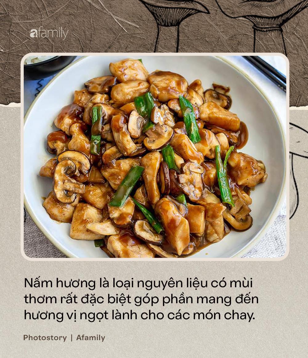 Nấm hương, thứ nguyên liệu thần thánh nhất định không thể thiếu trong ẩm thực món chay - Ảnh 4.