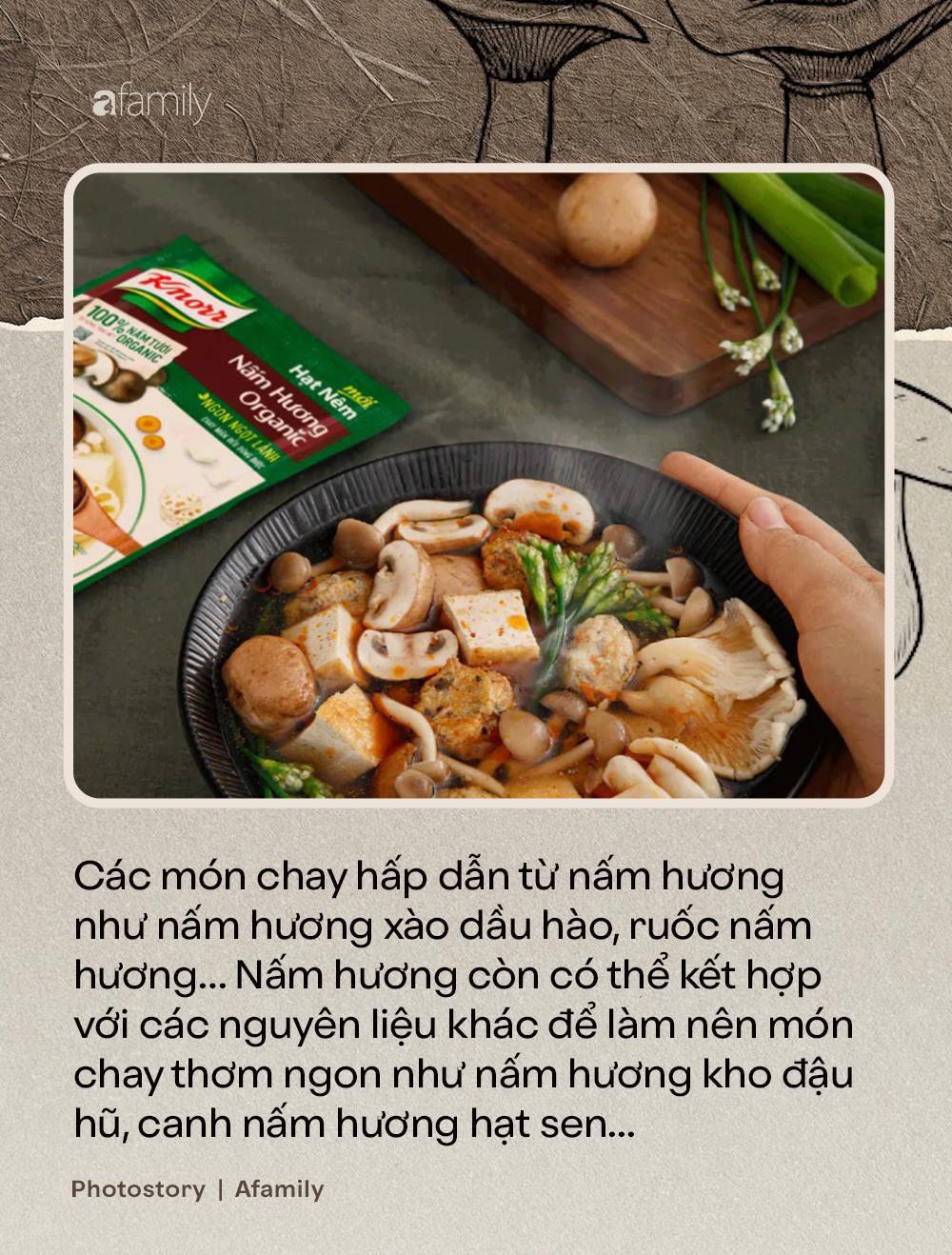 Nấm hương, thứ nguyên liệu thần thánh nhất định không thể thiếu trong ẩm thực món chay - Ảnh 5.