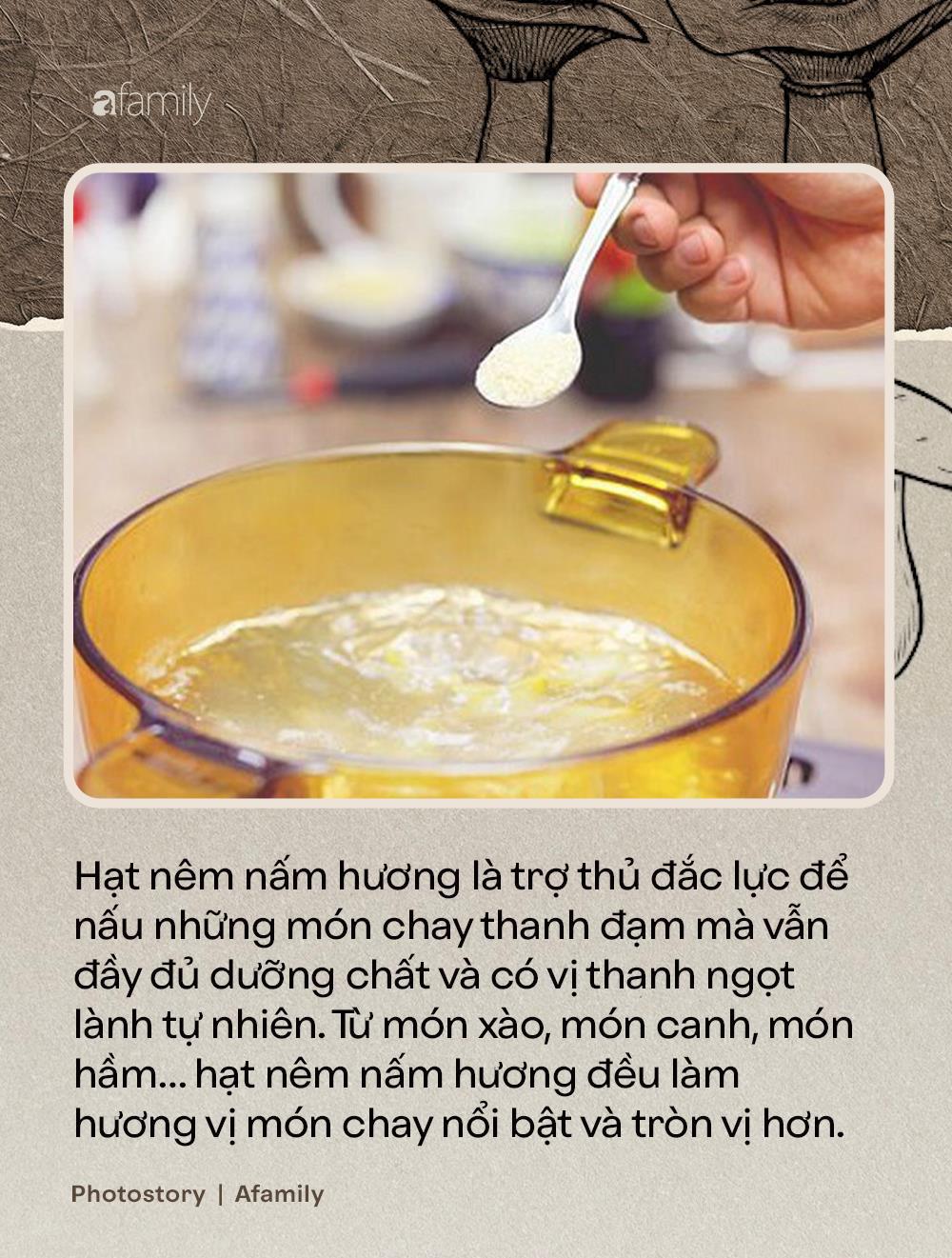 Nấm hương, thứ nguyên liệu thần thánh nhất định không thể thiếu trong ẩm thực món chay - Ảnh 7.