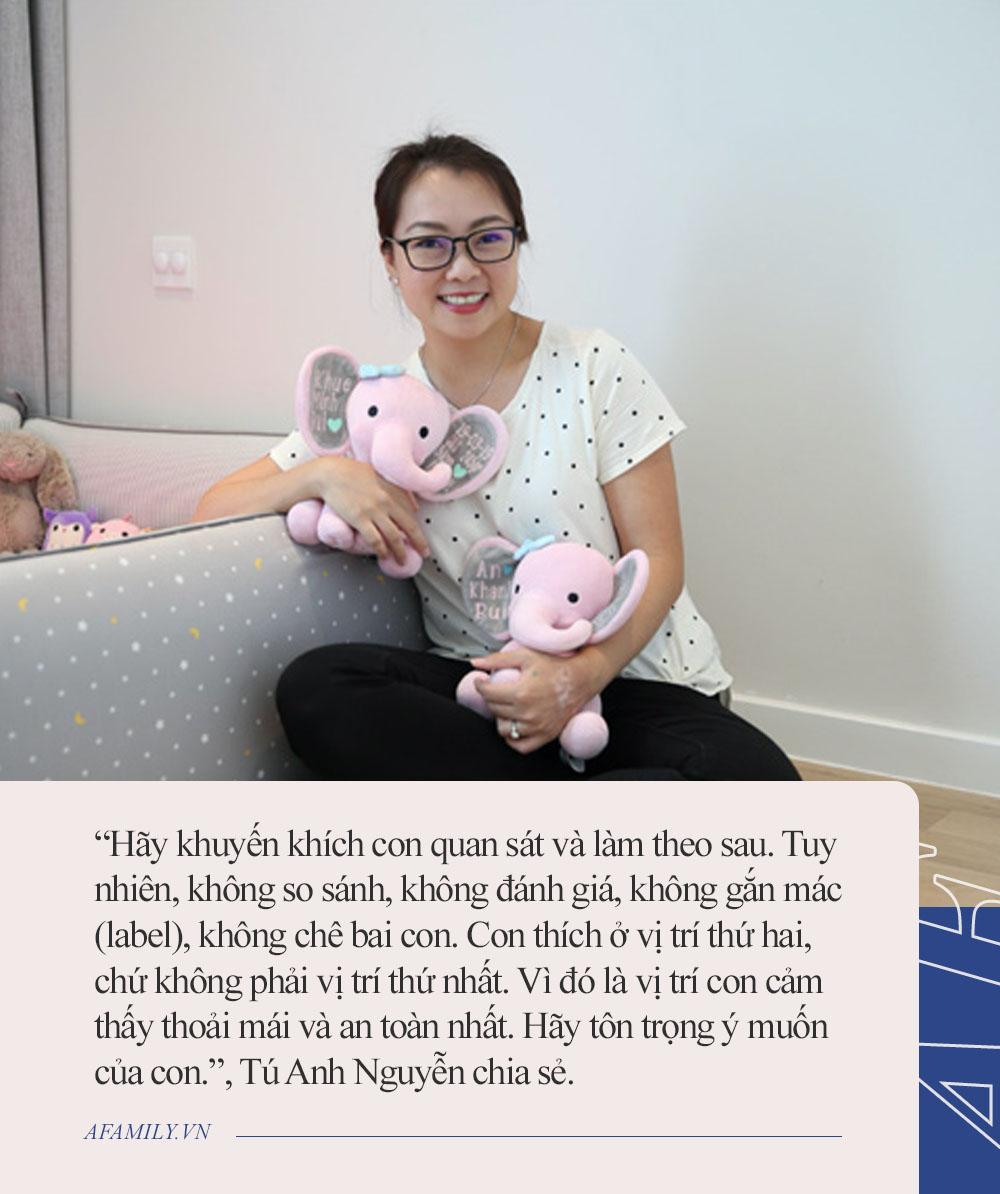 Parent coach Tú Anh Nguyễn: Khi con nhạy cảm và châm thích nghi, việc của bố mẹ là sống chậm lại cùng con - Ảnh 5.