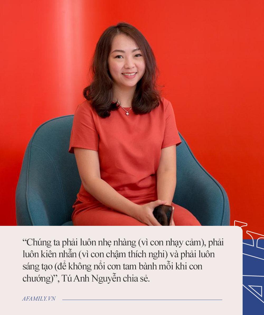 Parent coach Tú Anh Nguyễn: Khi con nhạy cảm và châm thích nghi, việc của bố mẹ là sống chậm lại cùng con - Ảnh 4.
