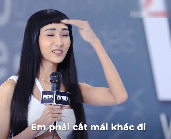 Vietnam's Next Top Model: Quá giống Hoàng Thùy, nữ thí sinh phải cắt tóc để khác đàn chị, tiết lộ sắp tham gia Người ấy là ai? - Ảnh 5.