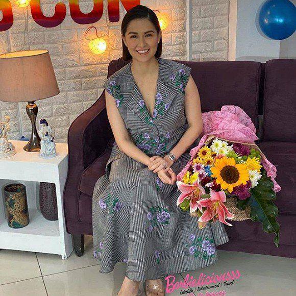 Mỹ nhân đẹp nhất Philippines Marian Rivera chính thức lấy lại được dáng sau khi sinh con trai, nhìn cơ bụng mà choáng - Ảnh 5.