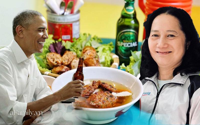 """Xuất hiện quán """"bún chả Obama"""" ở Trung Quốc với biển hiệu và cách ăn thì khá... gây cười, bà chủ quán bún Hương Liên """"xịn"""" tại Hà Nội đã lên tiếng về điều này - Ảnh 8."""