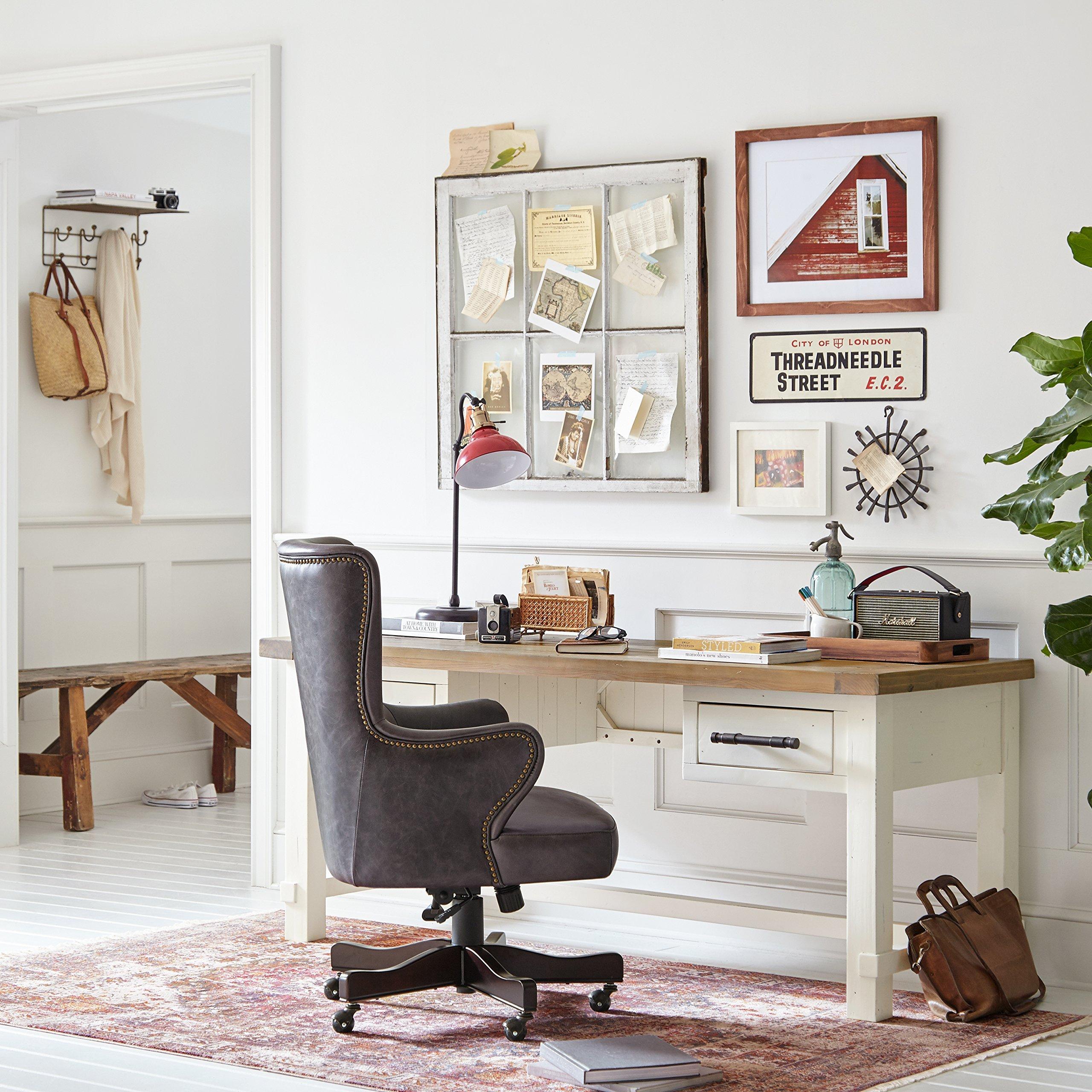 Gợi ý bạn những mẫu bàn làm việc tại nhà giúp bạn nâng cao hiệu suất làm việc như tại công ty - Ảnh 6.