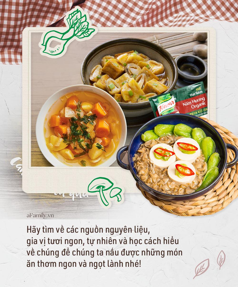 Ăn chay đâu chỉ có cơm với rau, xem đầu bếp nhà người ta chế biến món chay ngon và đẹp đỉnh cao như thế nào - Ảnh 11.