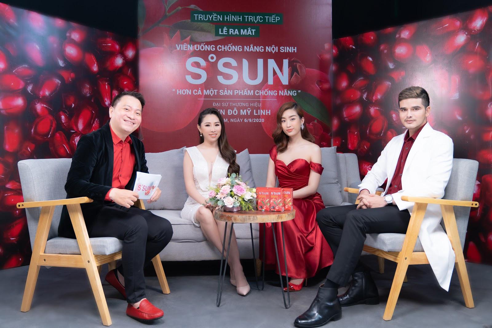 CEO Hoàng Tuyết Mai rạng rỡ trong buổi ra mắt sản phẩm chăm sóc sắc đẹp mới - Ảnh 1.