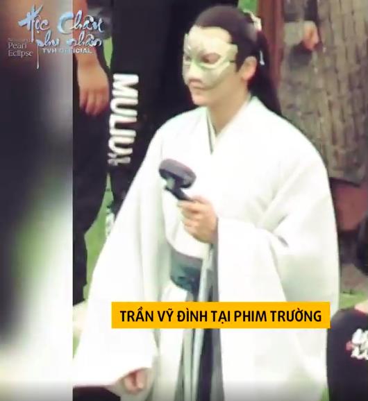 Dương Mịch làm phi tần xinh đẹp, Trần Vỹ Đình không dùng thế thân tự cưỡi ngựa trên trường quay  - Ảnh 4.