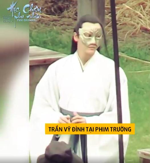 Dương Mịch làm phi tần xinh đẹp, Trần Vỹ Đình không dùng thế thân tự cưỡi ngựa trên trường quay  - Ảnh 5.