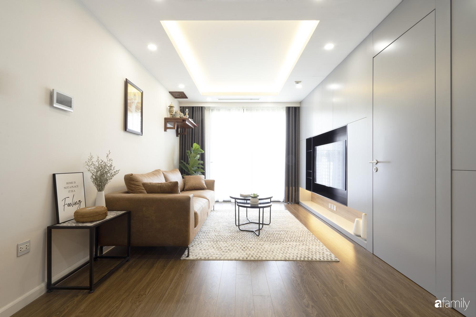 """Căn hộ 96m² tối ưu hóa công năng dành cho vợ chồng trẻ """"lười"""" dọn nhà có chi phí hoàn thiện 400 triệu đồng ở Hà Nội - Ảnh 5."""