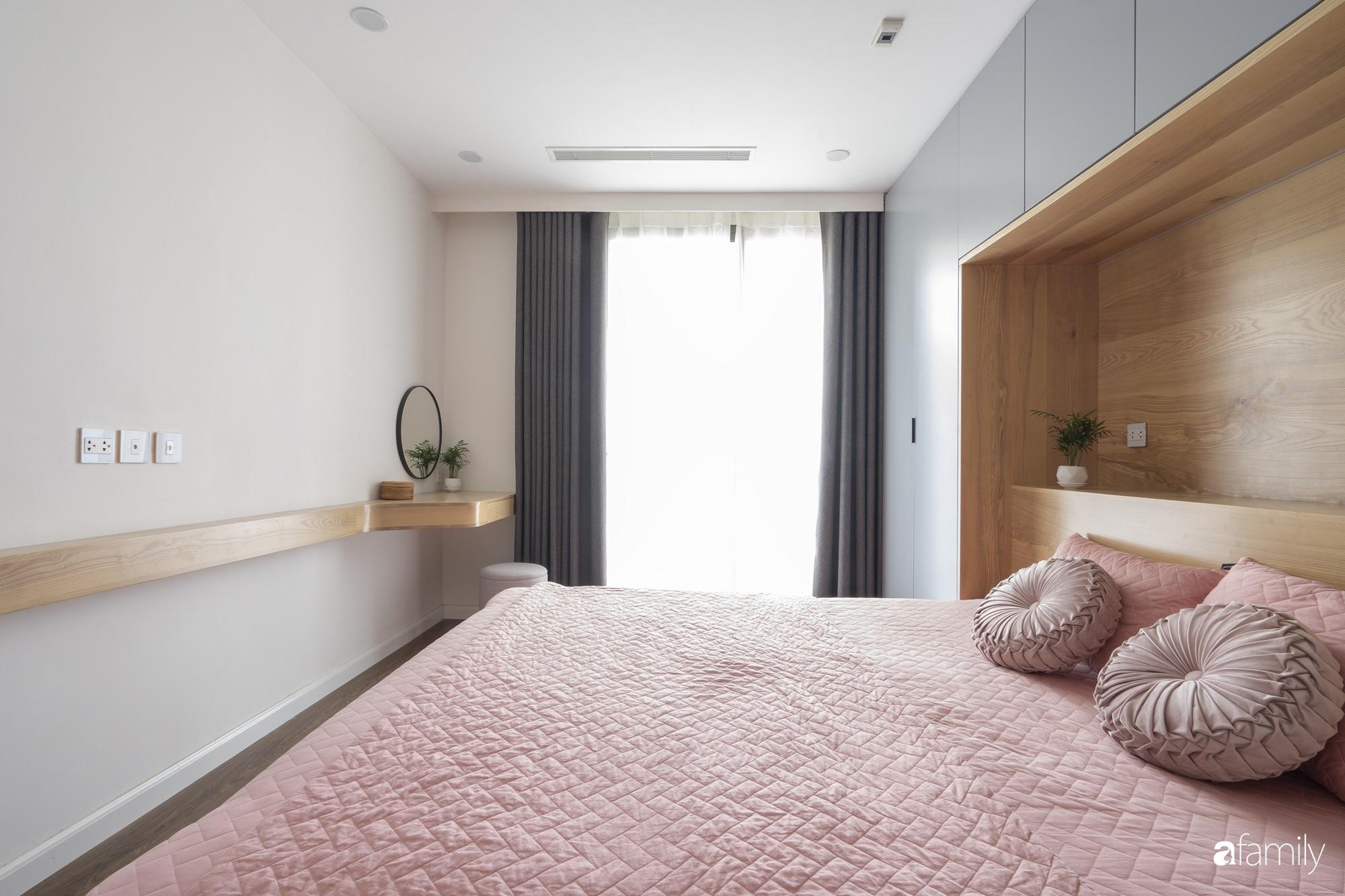 """Căn hộ 96m² tối ưu hóa công năng dành cho vợ chồng trẻ """"lười"""" dọn nhà có chi phí hoàn thiện 400 triệu đồng ở Hà Nội - Ảnh 13."""