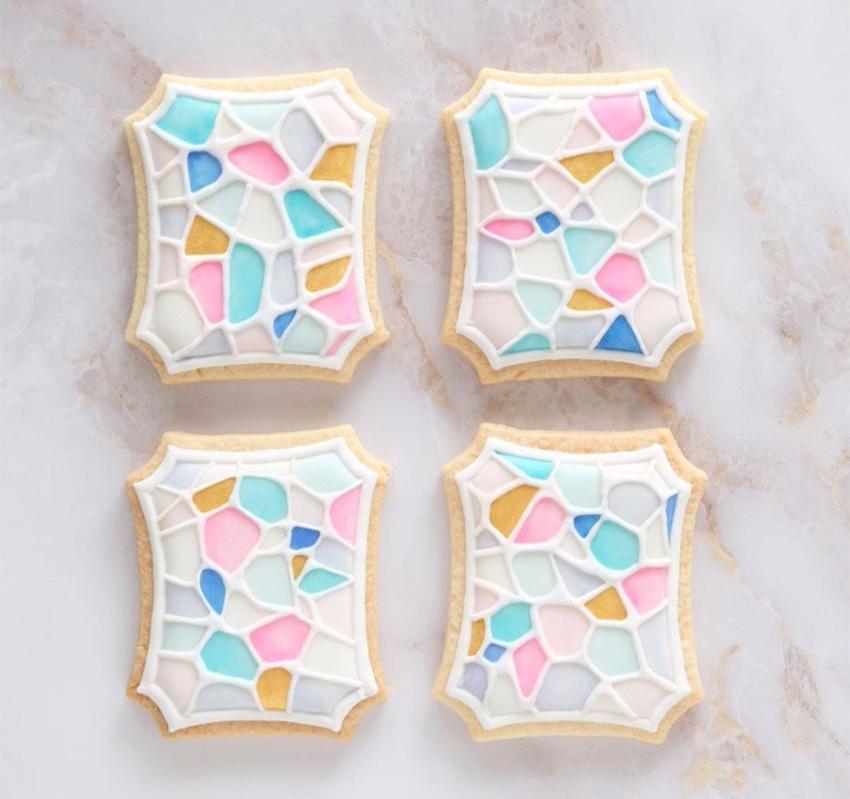 """Nhật Bản: Nhìn tưởng gạch bông nhưng là loại bánh quy nhà giàu phải đặt trước 5 ngày mới có, giá """"bí mật chỉ bật mí"""" cho người mua nhưng CĐM vẫn thốt """"đẹp không nỡ lòng ăn"""" - Ảnh 7."""
