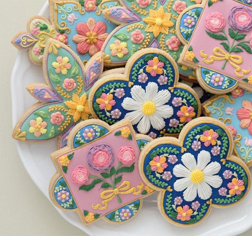 """Nhật Bản: Nhìn tưởng gạch bông nhưng là loại bánh quy nhà giàu phải đặt trước 5 ngày mới có, giá """"bí mật chỉ bật mí"""" cho người mua nhưng CĐM vẫn thốt """"đẹp không nỡ lòng ăn"""" - Ảnh 6."""