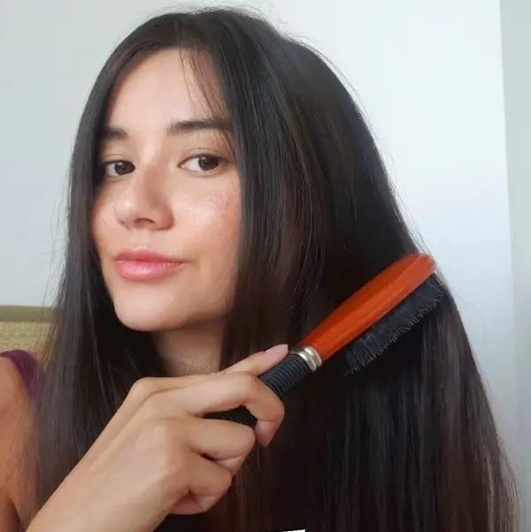 Nàng BTV biến tóc từ xơ rối do uốn nhuộm quá nhiều thành suôn mượt bồng bềnh chỉ nhờ 7 tips đơn giản - Ảnh 7.