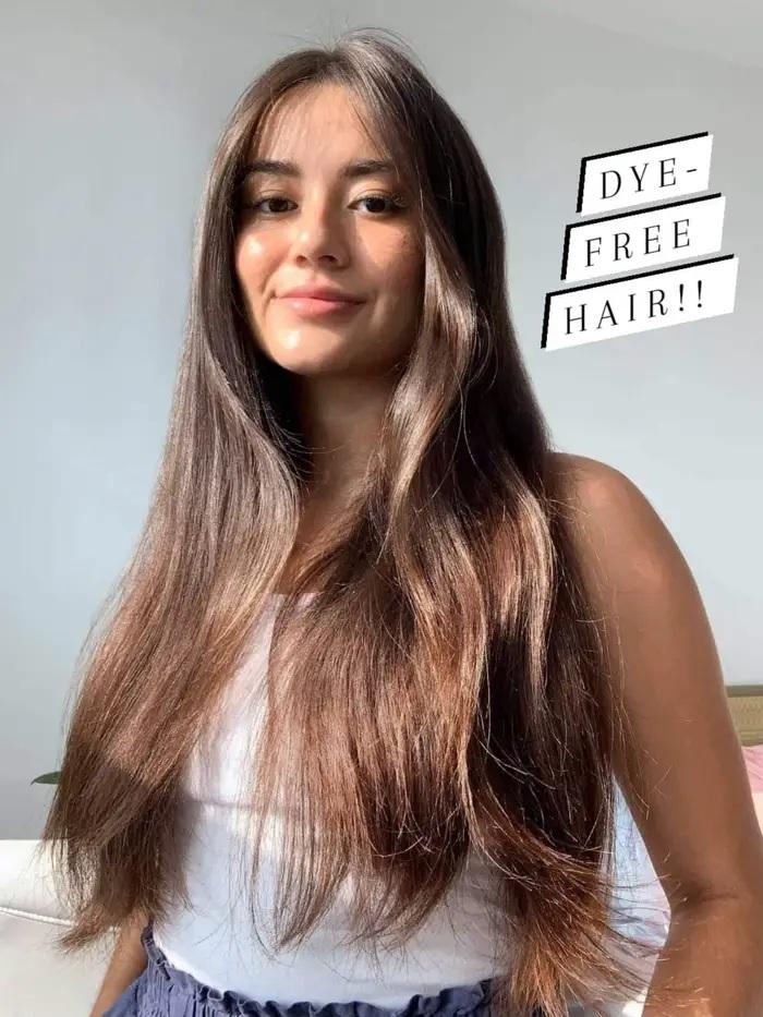 Nàng BTV biến tóc từ xơ rối do uốn nhuộm quá nhiều thành suôn mượt bồng bềnh chỉ nhờ 7 tips đơn giản - Ảnh 1.
