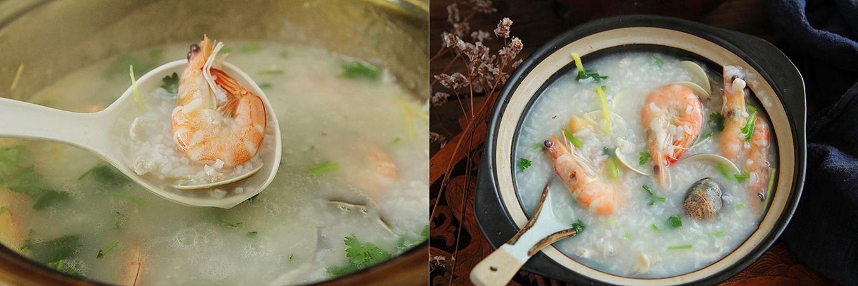 Trời lạnh ngại ra ngoài, bữa sáng cứ nấu món cháo này thì đảm bảo đủ chất mà ấm bụng vô cùng - Ảnh 5.