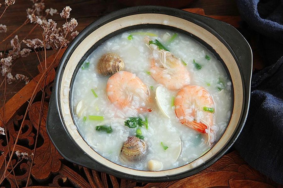 Trời lạnh ngại ra ngoài, bữa sáng cứ nấu món cháo này thì đảm bảo đủ chất mà ấm bụng vô cùng - Ảnh 6.