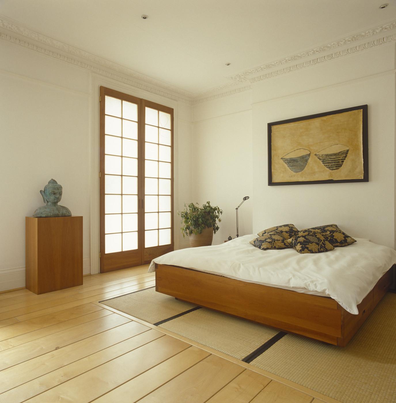 19 mẫu phòng ngủ hài hòa và thư thái theo phong cách Zen - Ảnh 12.