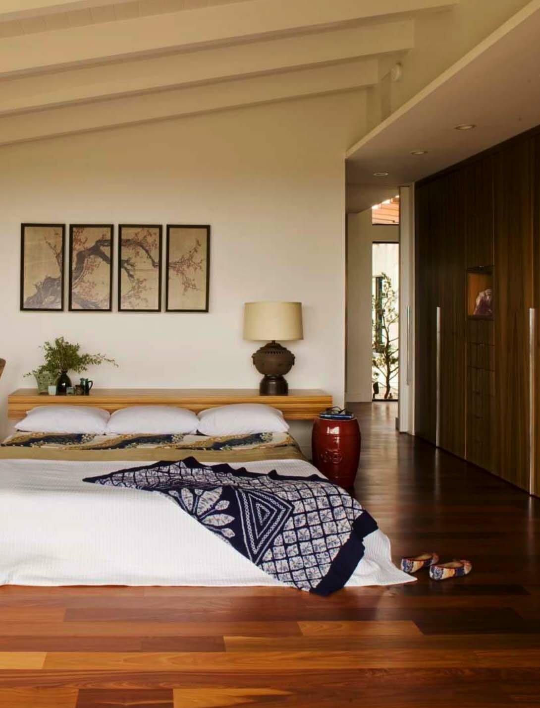 19 mẫu phòng ngủ hài hòa và thư thái theo phong cách Zen - Ảnh 18.