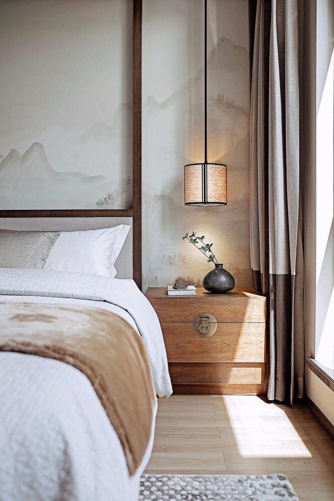 19 mẫu phòng ngủ hài hòa và thư thái theo phong cách Zen - Ảnh 2.