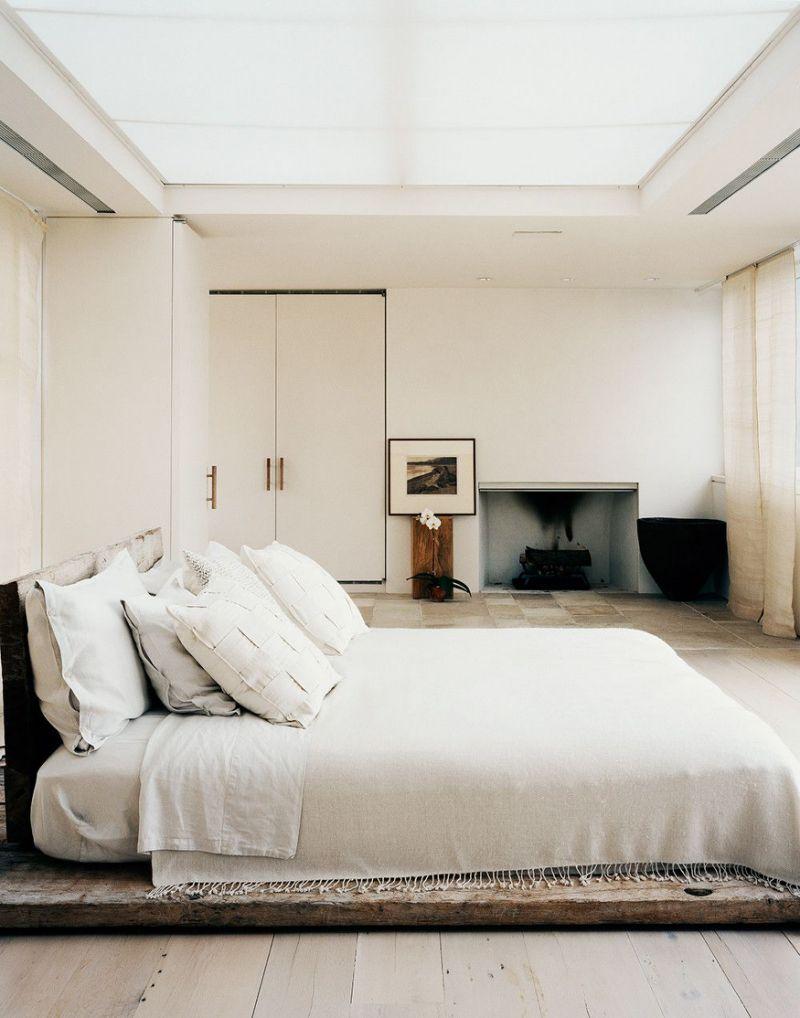 19 mẫu phòng ngủ hài hòa và thư thái theo phong cách Zen - Ảnh 3.