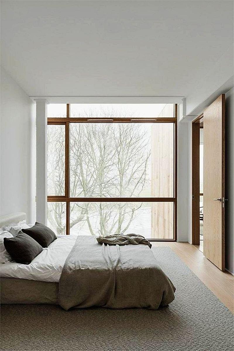 19 mẫu phòng ngủ hài hòa và thư thái theo phong cách Zen - Ảnh 8.