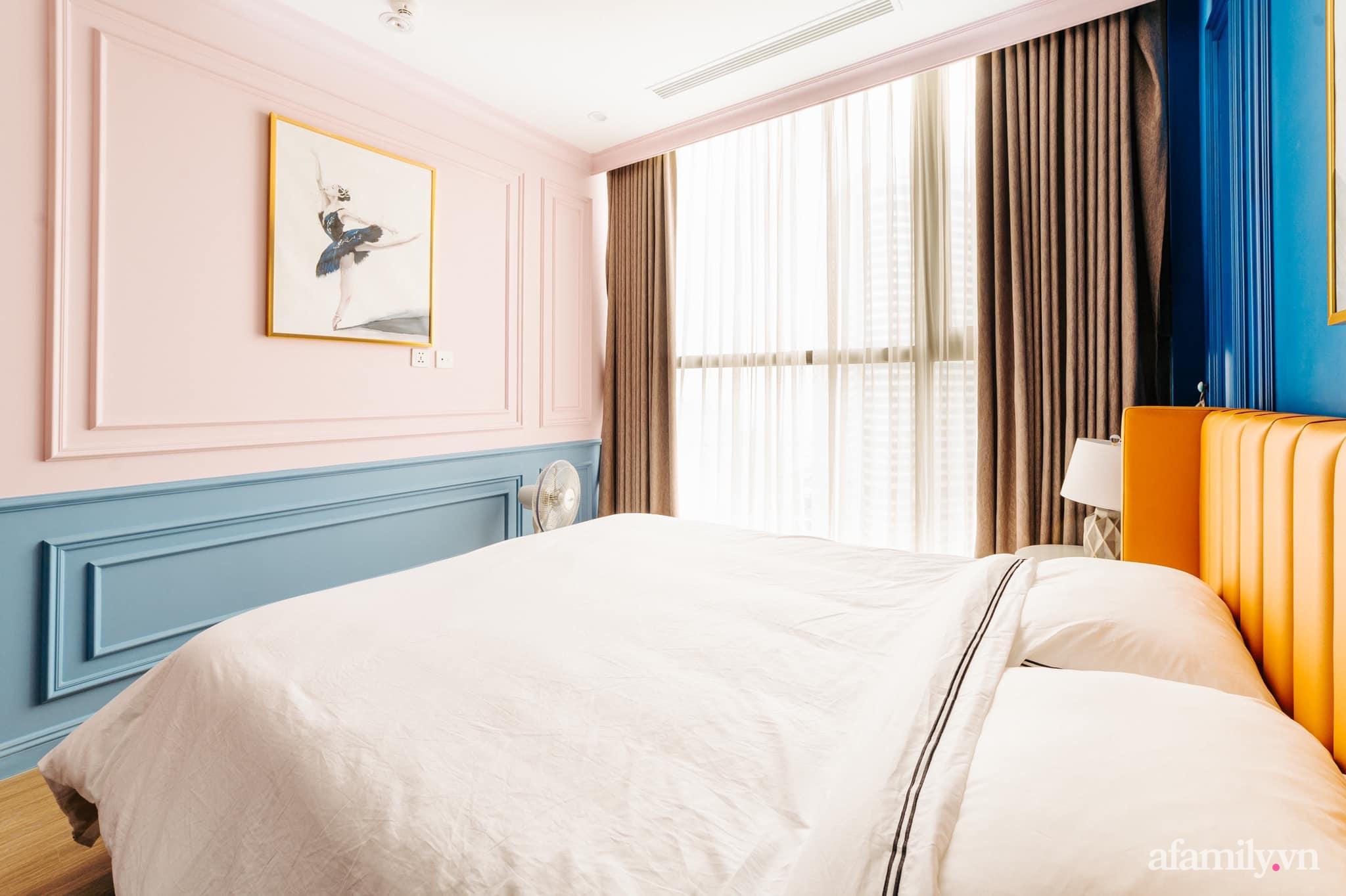 Căn hộ 45m² đẹp không góc chết với điểm nhấn màu xanh hồng cực chất có chi phí hoàn thiện 200 triệu đồng ở Hà Nội - Ảnh 15.