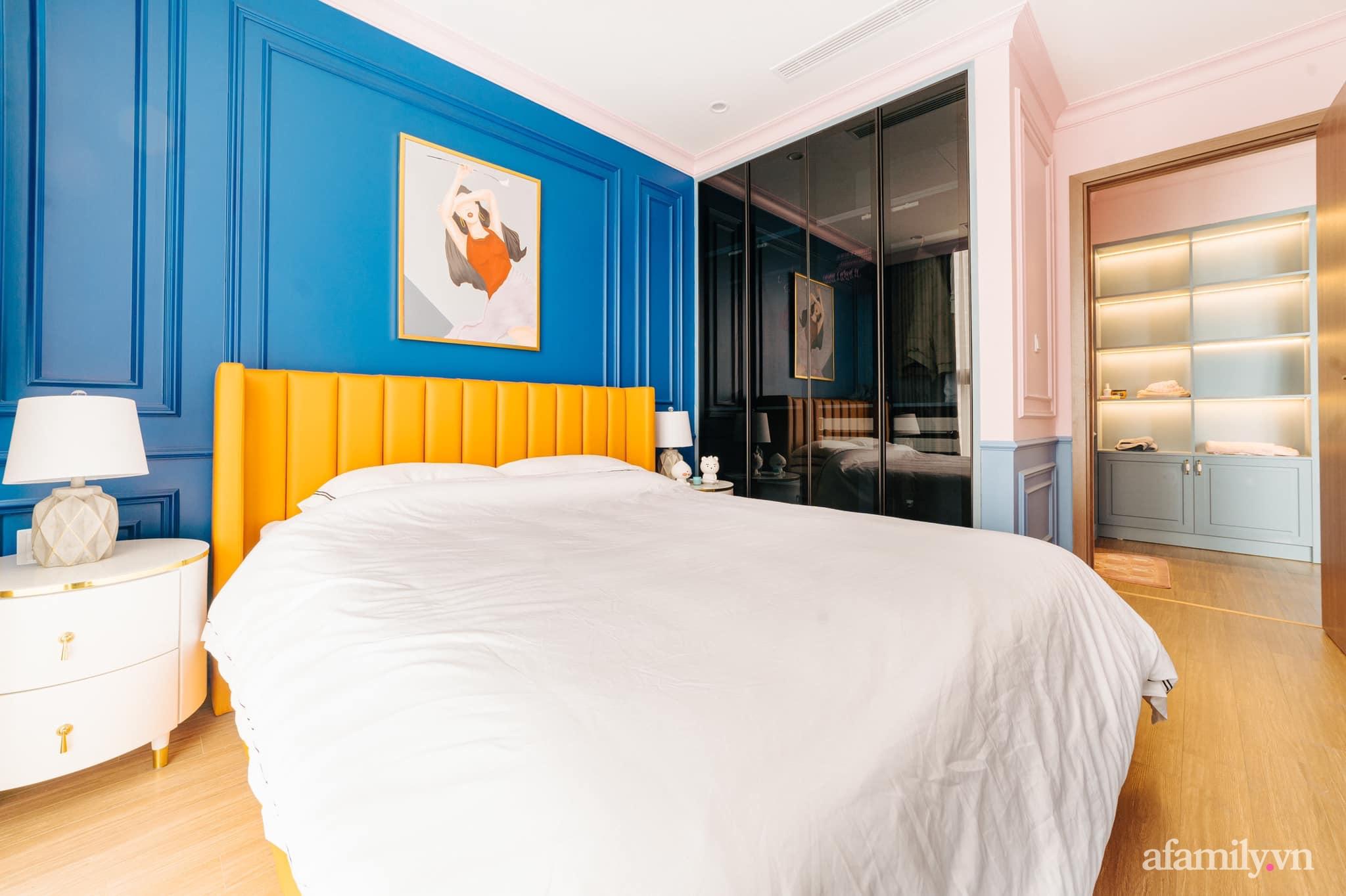 Căn hộ 45m² đẹp không góc chết với điểm nhấn màu xanh hồng cực chất có chi phí hoàn thiện 200 triệu đồng ở Hà Nội - Ảnh 16.
