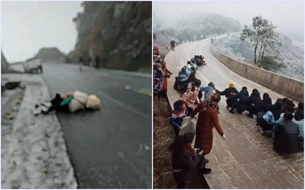 Cộng đồng mạng ghen tị với những người đang được tận mắt ngắm tuyết ở Lào Cai, nhưng đây mới là sự thật bi hài phía sau