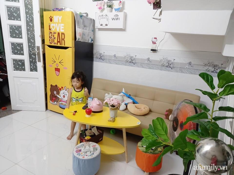 Mẹ đơn thân tự cải tạo nhà 20,8m² thật xinh với chi phí siêu rẻ chỉ hơn 8 triệu ở Sài Gòn - Ảnh 4.