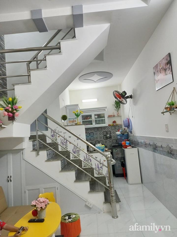 Mẹ đơn thân tự cải tạo nhà 20,8m² thật xinh với chi phí siêu rẻ chỉ hơn 8 triệu ở Sài Gòn - Ảnh 1.