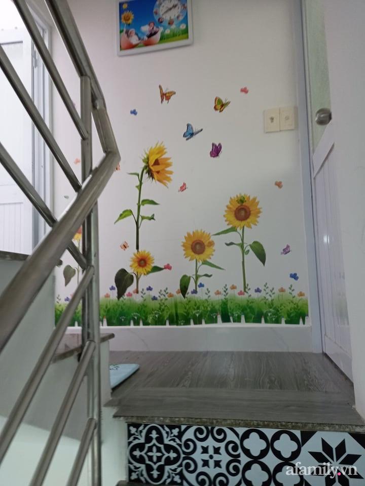 Mẹ đơn thân tự cải tạo nhà 20,8m² thật xinh với chi phí siêu rẻ chỉ hơn 8 triệu ở Sài Gòn - Ảnh 7.