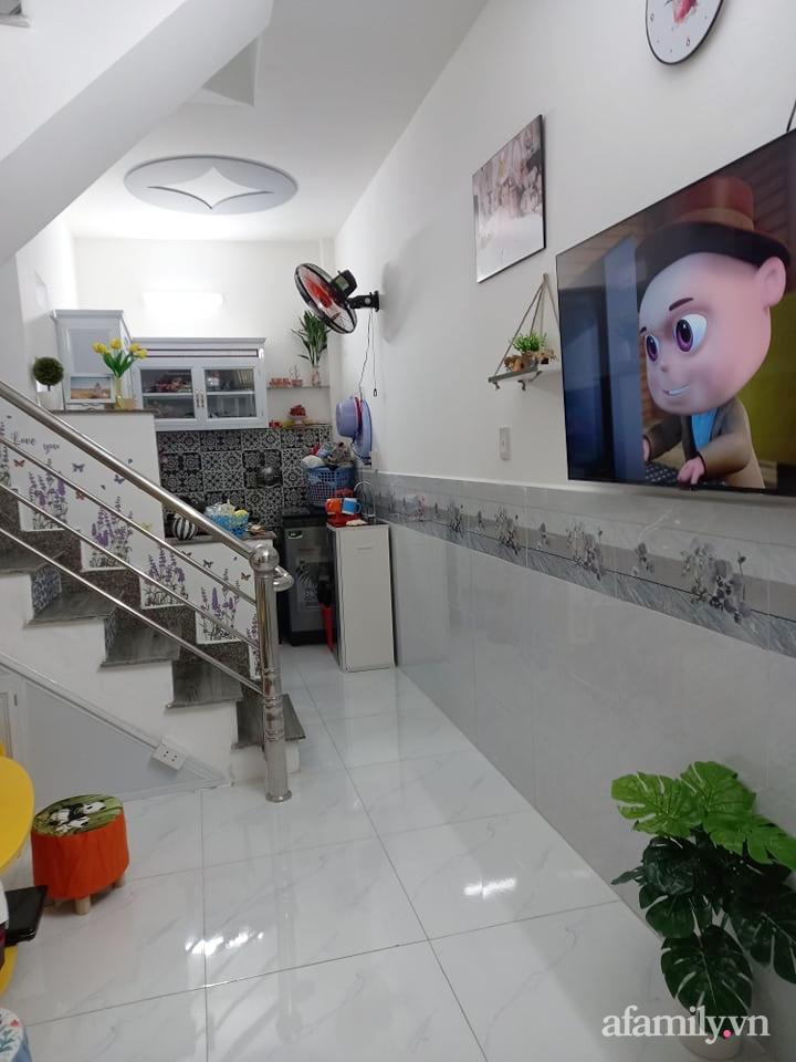 Mẹ đơn thân tự cải tạo nhà 20,8m² thật xinh với chi phí siêu rẻ chỉ hơn 8 triệu ở Sài Gòn - Ảnh 2.