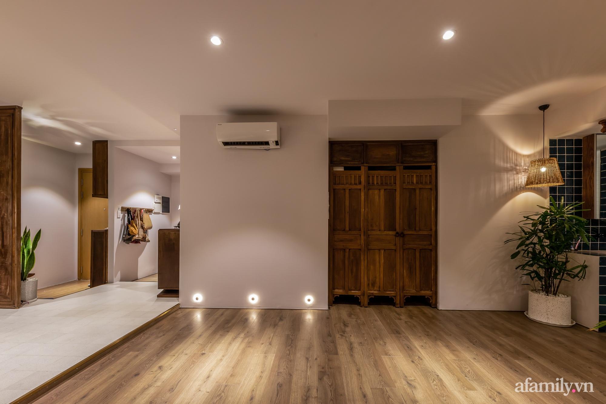 Căn hộ 90m² mang hơi thở Đông Dương vào kiến trúc hiện đại đầy nghệ thuật và sự tinh tế ở Q2, TP. HCM - Ảnh 9.