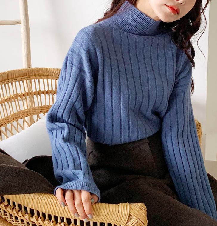 Ngày lạnh, không thể sống thiếu áo len cổ lọ - Ảnh 3.