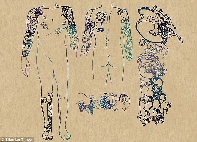 Xác ướp công chúa 2.500 tuổi có hình xăm điệu nghệ rất giống hiện đại khiến khoa học bối rối, người dân cương quyết không cho công khai ảnh lên truyền thông với lý do khó hiểu - Ảnh 4.