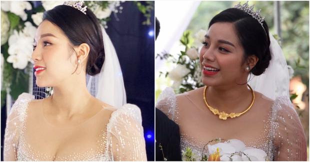 Vợ cầu thủ Bùi Tiến Dũng lần đầu xuất hiện sau đám cưới, nhan sắc khác biệt của Khánh Linh gây chú ý  - Ảnh 6.