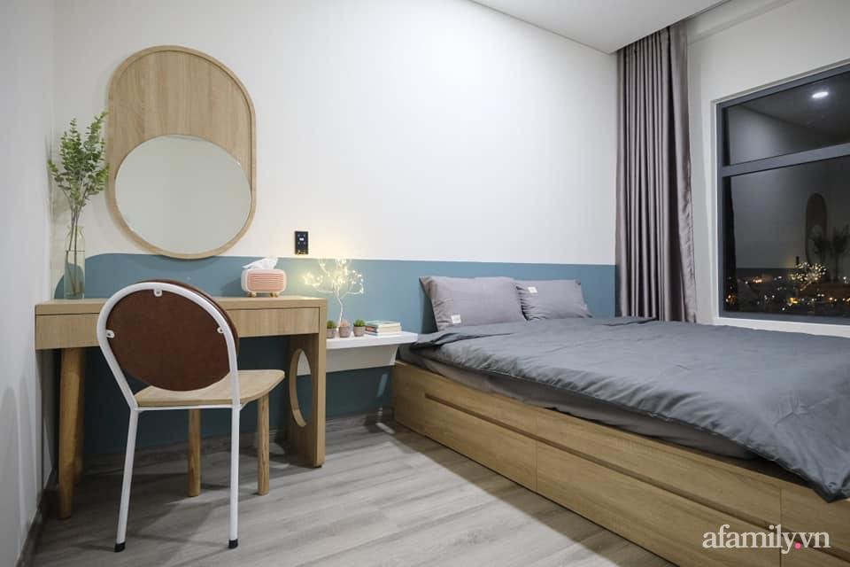 Căn hộ 75m² view sông Hàn đắt giá nhưng được thiết kế nội thất bình dị, ấm áp có chi phí 78 triệu đồng ở TP Đà Nẵng - Ảnh 13.